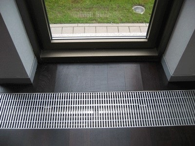 Радиатор в полу