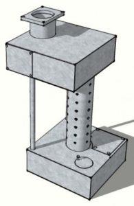 Отопительный агрегат на отработанном масле