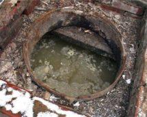 Выгребная яма быстро наполняется