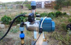 Насос системы водоснабжения дома