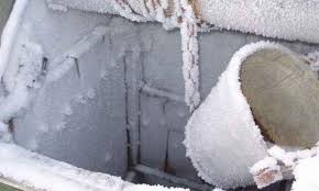 Колодец замерз