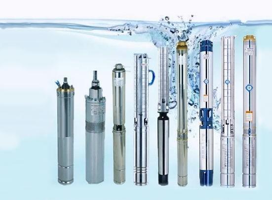 Разные погружные агрегаты для скважины