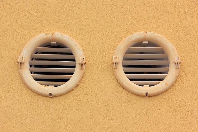 Элемент вентиляции квартиры или дома